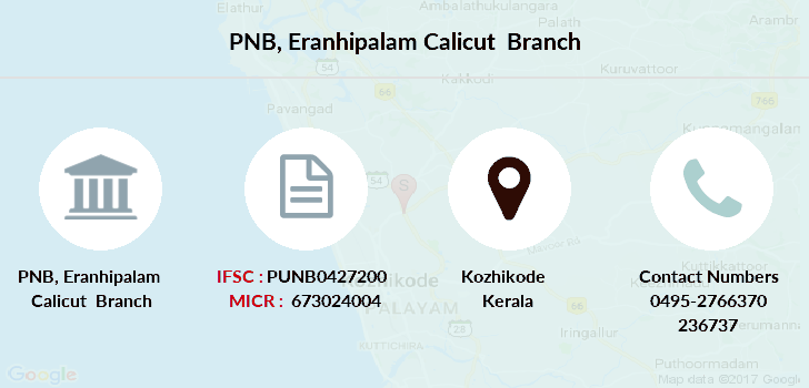 Punjab-national-bank Eranhipalam-calicut branch