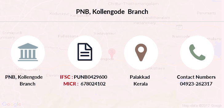 Punjab-national-bank Kollengode branch