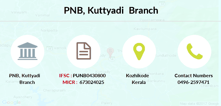 Punjab-national-bank Kuttyadi branch
