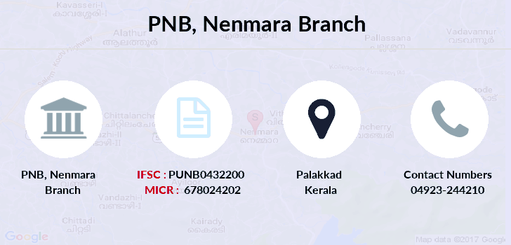 Punjab-national-bank Nenmara branch