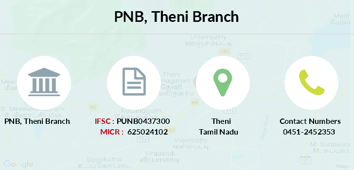 Punjab-national-bank Theni branch