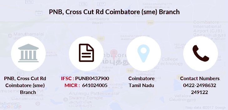 Punjab-national-bank Cross-cut-rd-coimbatore-sme branch