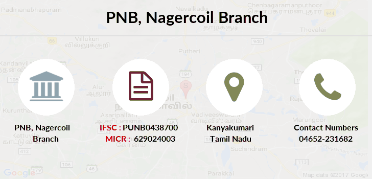 Punjab-national-bank Nagercoil branch