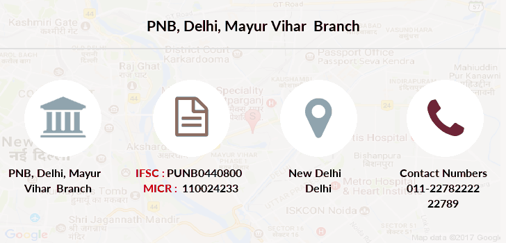 Punjab-national-bank Delhi-mayur-vihar branch