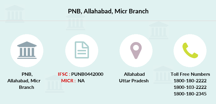 Punjab-national-bank Allahabad-micr branch