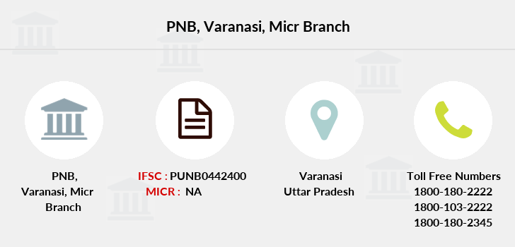 Punjab-national-bank Varanasi-micr branch