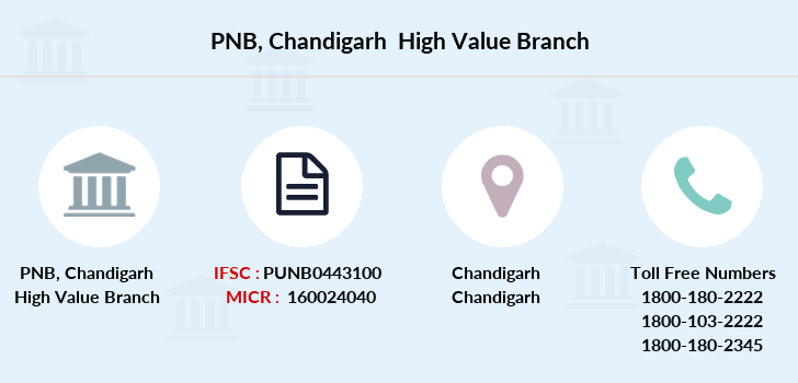 Punjab-national-bank Chandigarh-high-value branch