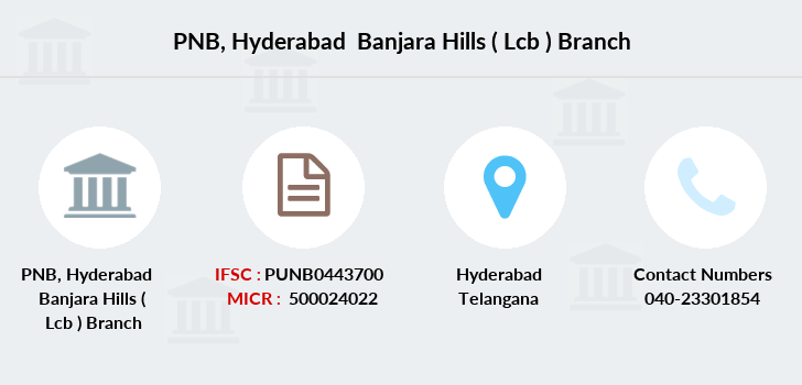 Punjab-national-bank Hyderabad-banjara-hills-lcb branch