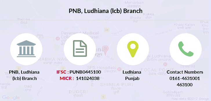 Punjab-national-bank Ludhiana-lcb branch
