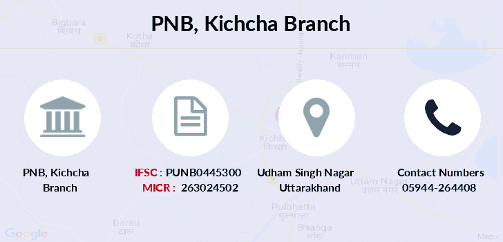 Punjab-national-bank Kichcha branch