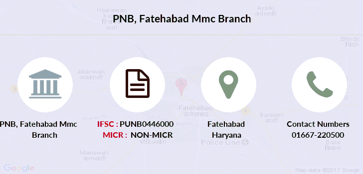 Punjab-national-bank Fatehabad-mmc branch