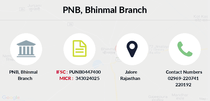 Punjab-national-bank Bhinmal branch