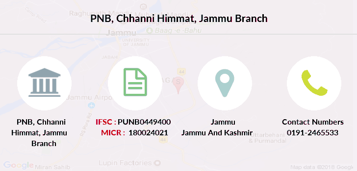 Punjab-national-bank Chhanni-himmat-jammu branch
