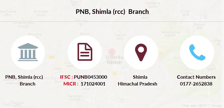 Punjab-national-bank Shimla-rcc branch