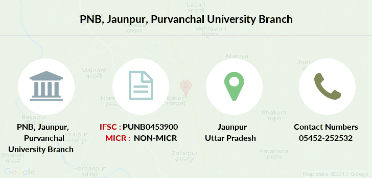 Punjab-national-bank Jaunpur-purvanchal-university branch