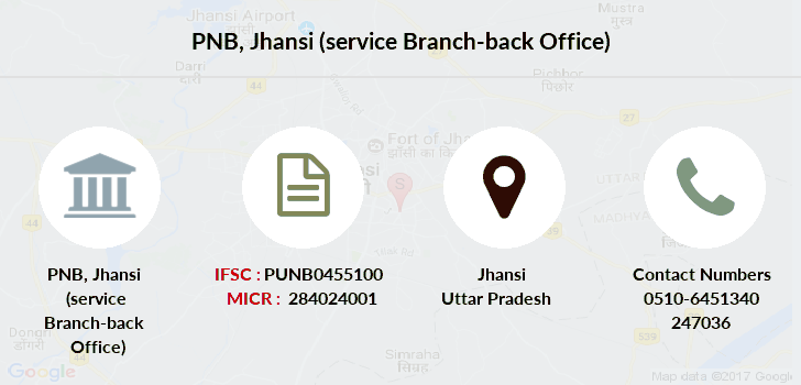 Punjab-national-bank Jhansi-service-branch-back-office branch