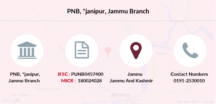 Punjab-national-bank Janipur-jammu branch