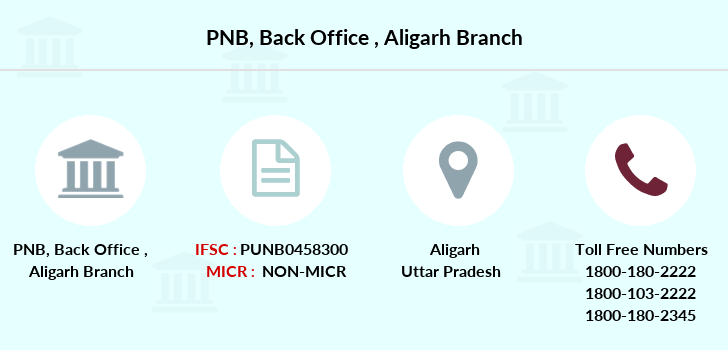 Punjab-national-bank Back-office-aligarh branch