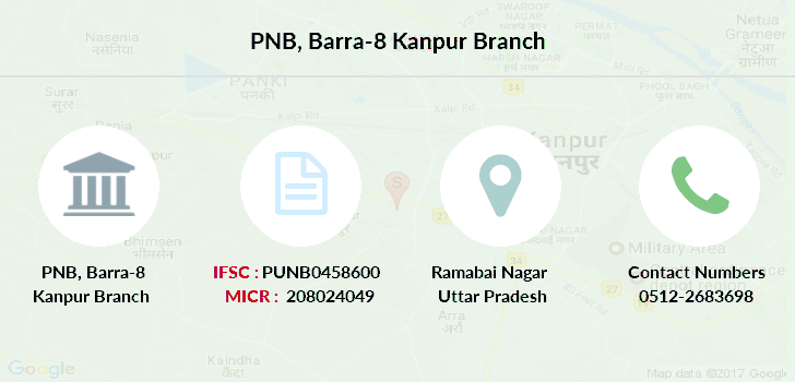 Punjab-national-bank Barra-8-kanpur branch