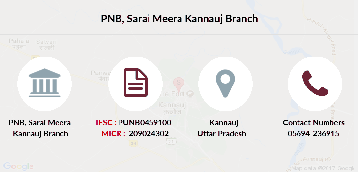 Punjab-national-bank Sarai-meera-kannauj branch