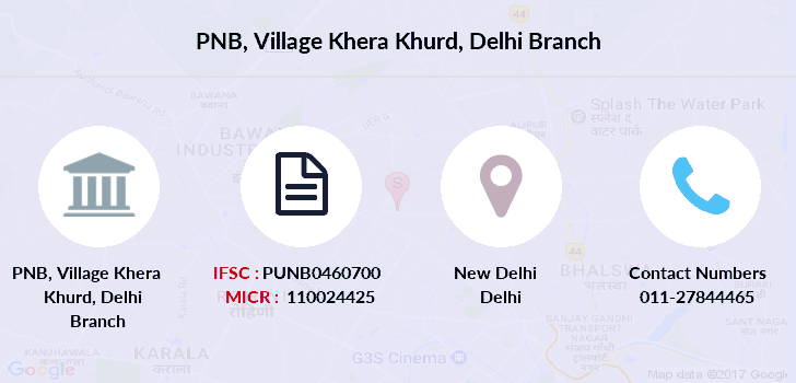 Punjab-national-bank Village-khera-khurd-delhi branch