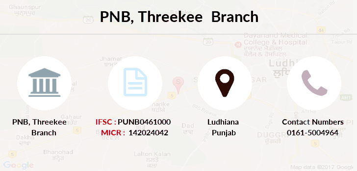 Punjab-national-bank Threekee branch
