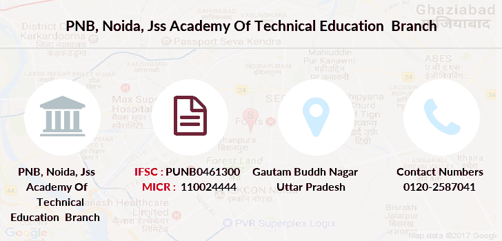Punjab-national-bank Noida-jss-academy-of-technical-education branch
