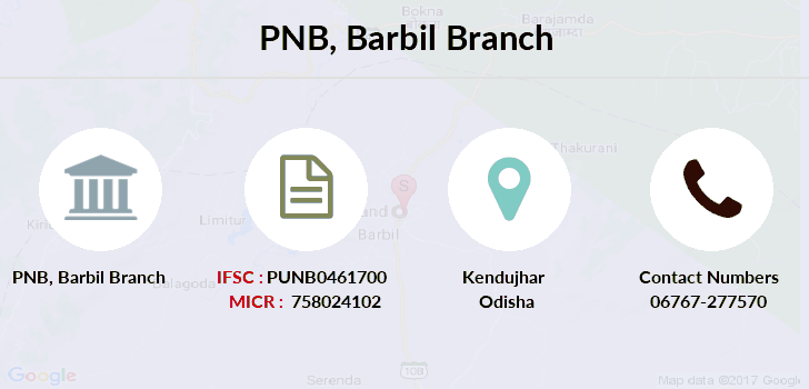 Punjab-national-bank Barbil branch