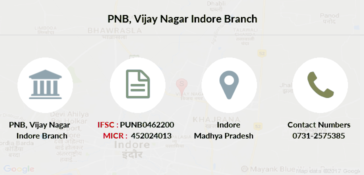Punjab-national-bank Vijay-nagar-indore branch