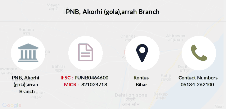 Punjab-national-bank Akorhi-gola-arrah branch