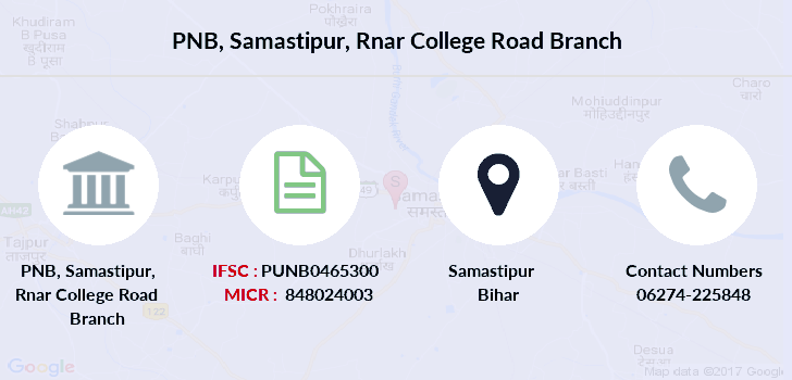 Punjab-national-bank Samastipur-rnar-college-road branch