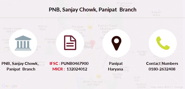 Punjab-national-bank Sanjay-chowk-panipat branch