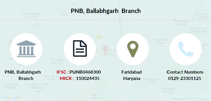Punjab-national-bank Ballabhgarh branch