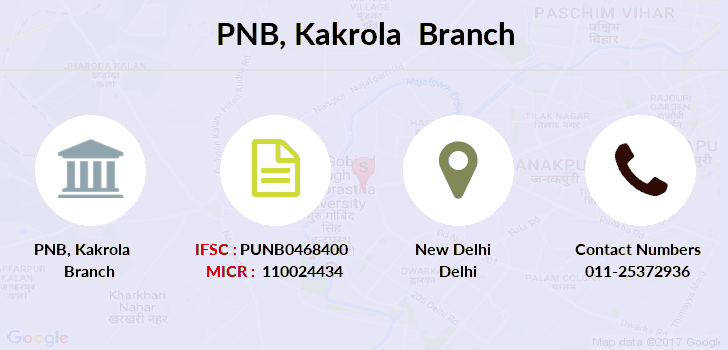Punjab-national-bank Kakrola branch