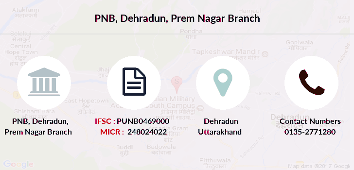Punjab-national-bank Dehradun-prem-nagar branch