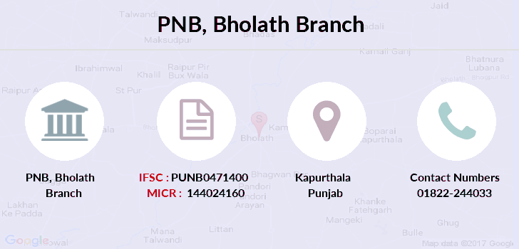 Punjab-national-bank Bholath branch