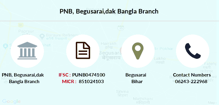 Punjab-national-bank Begusarai-dak-bangla branch