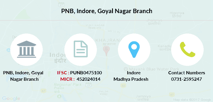 Punjab-national-bank Indore-goyal-nagar branch