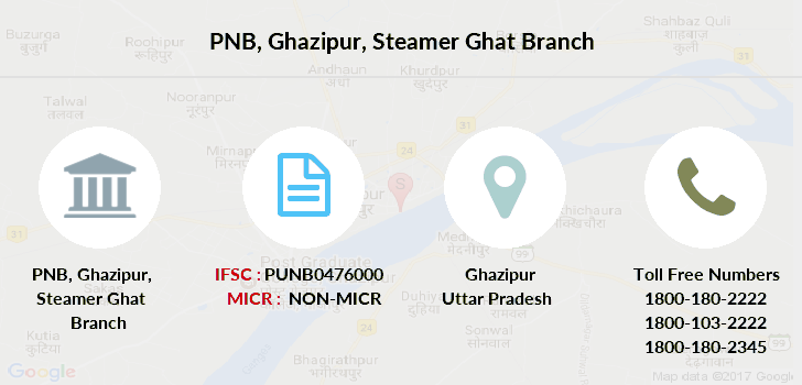 Punjab-national-bank Ghazipur-steamer-ghat branch