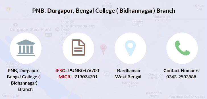 Punjab-national-bank Durgapur-bengal-college-bidhannagar branch