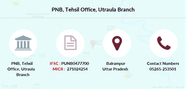 Punjab-national-bank Tehsil-office-utraula branch
