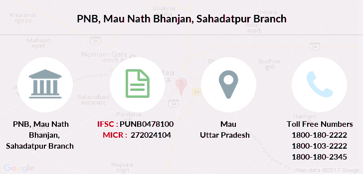 Punjab-national-bank Mau-nath-bhanjan-sahadatpur branch