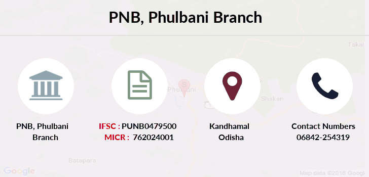 Punjab-national-bank Phulbani branch