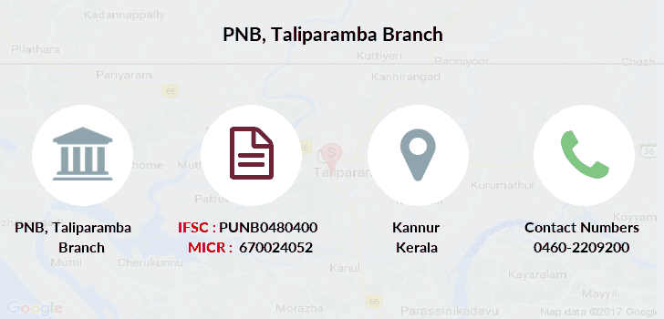 Punjab-national-bank Taliparamba branch