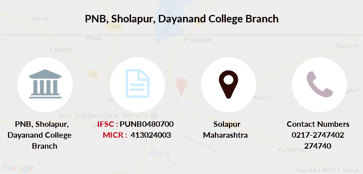 Punjab-national-bank Sholapur-dayanand-college branch