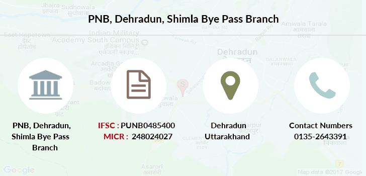 Punjab-national-bank Dehradun-shimla-bye-pass branch