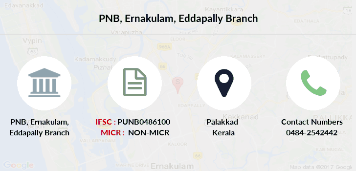 Punjab-national-bank Ernakulam-eddapally branch