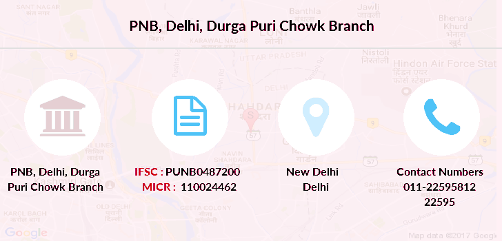 Punjab-national-bank Delhi-durga-puri-chowk branch