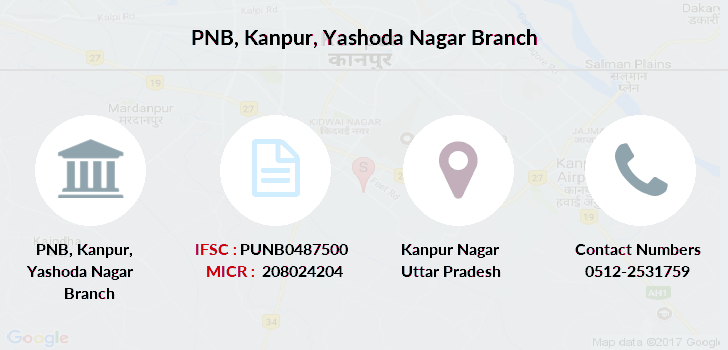 Punjab-national-bank Kanpur-yashoda-nagar branch