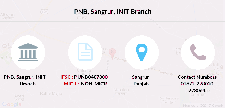 Punjab-national-bank Sangrur-init branch